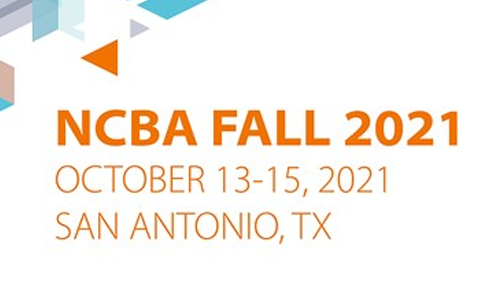 Image: NCBA Fall 2021 Conference Banner