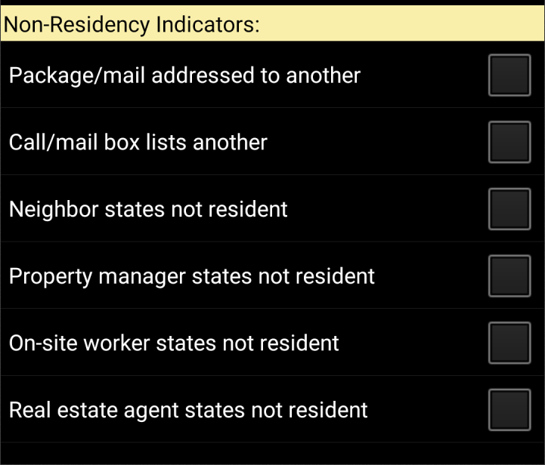 Non Residency Indicators-1