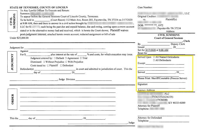 warrant example 2-1