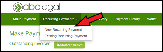 Delect Recurring Payments